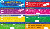 CTP 1158 READING THINK ALOUDS MINI BBS