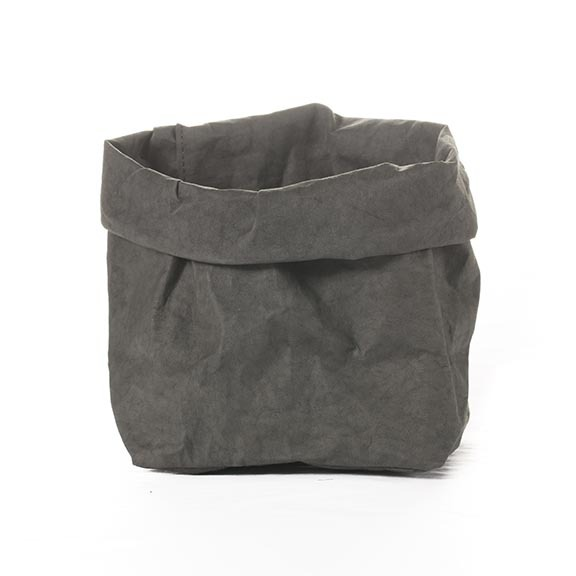PAPER BAG DARK GREY