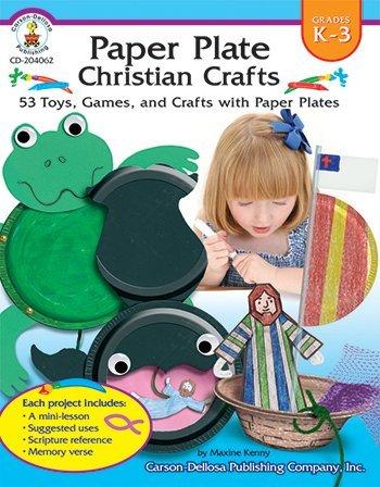 X CD 204062 PAPER PLATE CHRISTIAN CRAFT RESOURCE BOOK