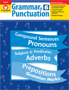 EMC 2716 GRAMMAR AND PUNCTUATION G6