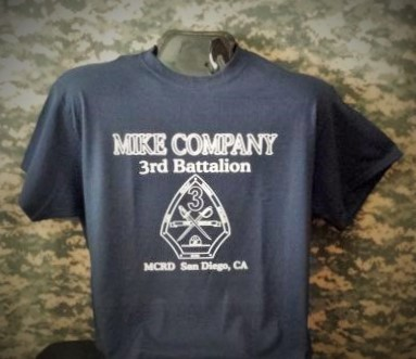 Usmc 3rd battalion boot camp t shirt apparel military for Military t shirt companies