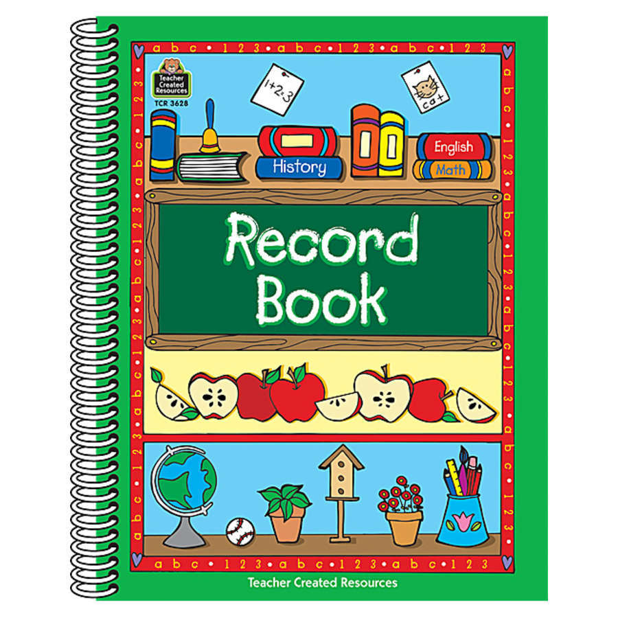 TCR 3628 RECORD BOOK DESK AND CHALKBOARD