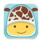 Skip Hop Zoo Melamine Plate, Giraffe, One Size