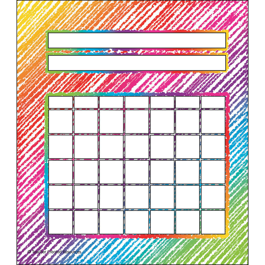 TCR 3072 COLORFUL SCRIBBLE INCENTIVE CHARTS
