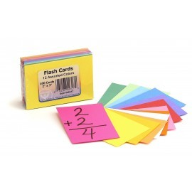 HYG 42310 BRIGHT FLASH CARDS ASST 2X3
