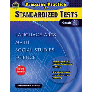 TCR 2894 PREPARE AND PRACTICE FOR STANDARDIZED TESTS GRADE 4