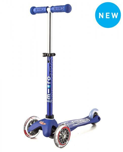 Mini Deluxe Micro Scooter, Blu, One Size