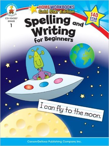 CD 104357 SPELLING AND WRITING FOR BEGINNERS GRADE1