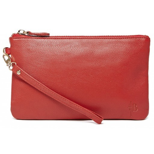 HBUTLER - MIGHTY PURSE IN RUBY RED