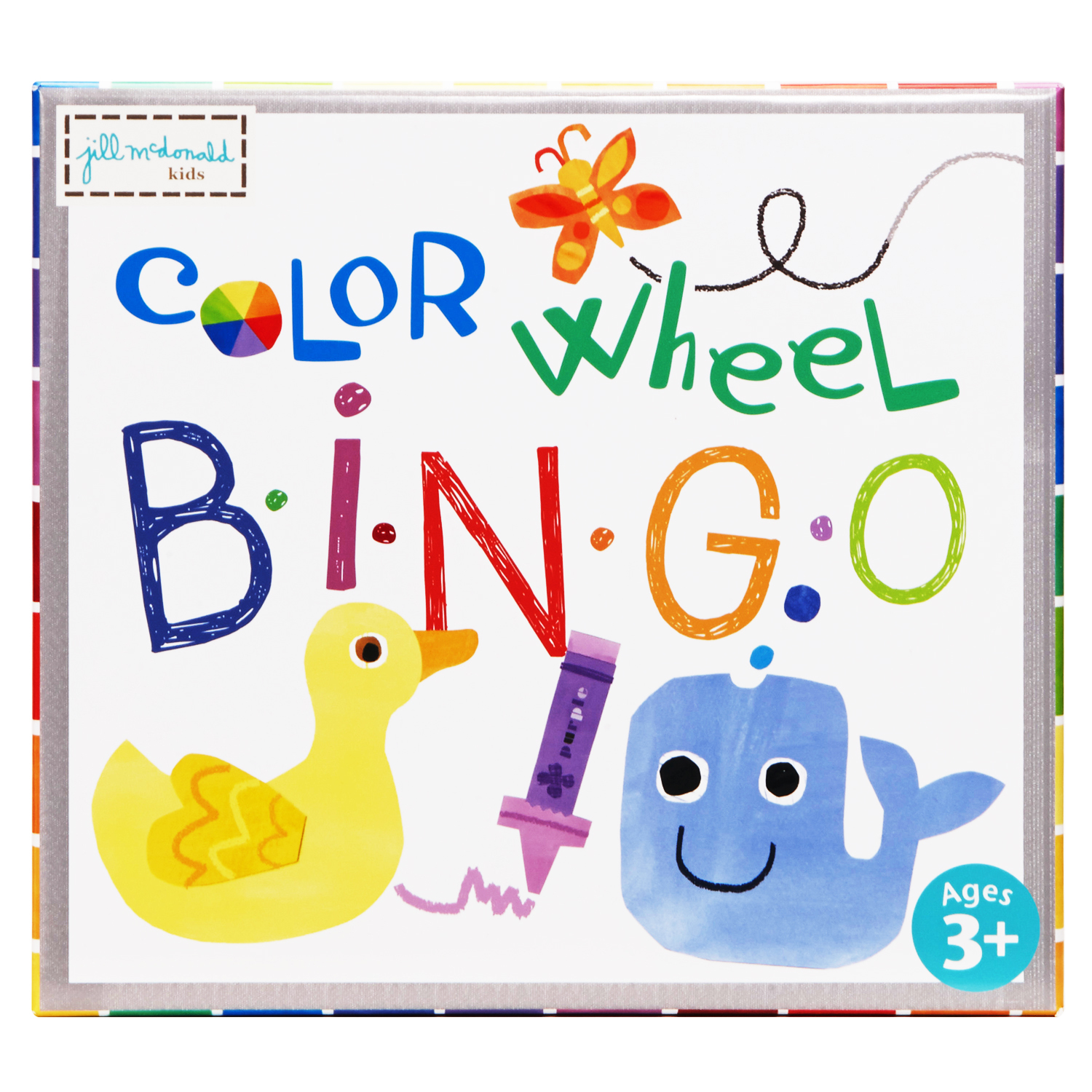 EU BJPB 13743 COLOR WHEEL PUZZLE BINGO GAME