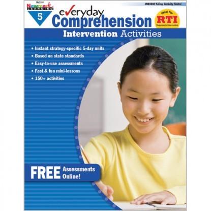 NL 0413 EVERYDAY COMPREHENSION INTERVENTION ACTIVITIES GR. 5