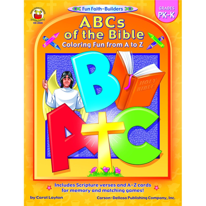 CD 2028 ABC'S OF THE BIBLE PREK-K