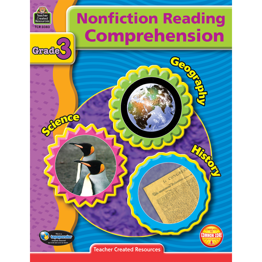 TCR 3383 NF READING COMPREHENSION