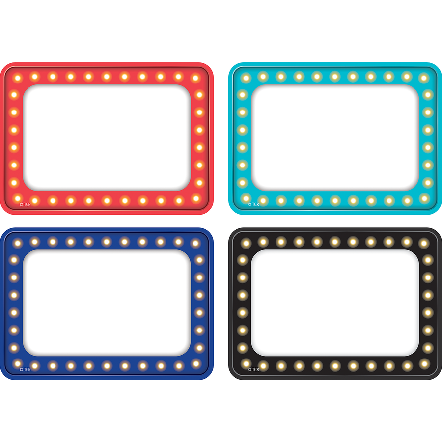 TCR 5433 MARQUEE NAMETAGS