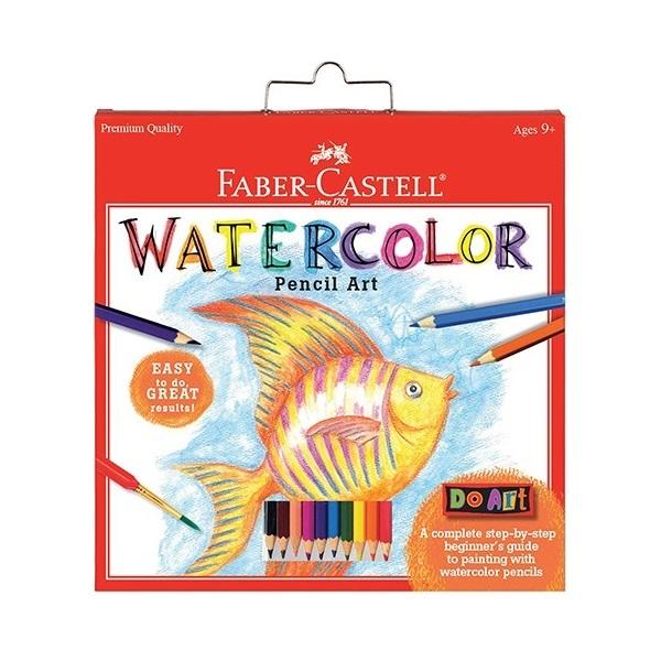 FC 14559 DO ART WATERCOLOR PENCIL ART