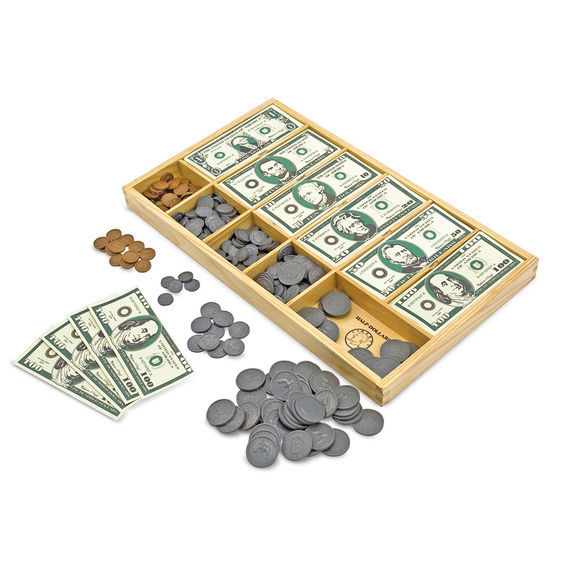 MD 1273 PLAY MONEY SET