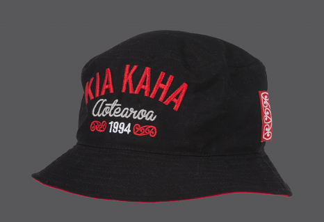 Toa Bucket Hat Black