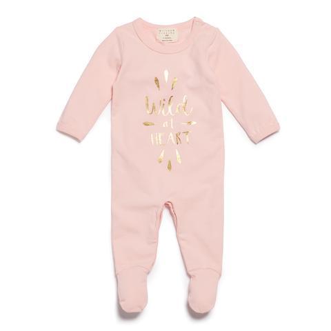WF Wild Heart Growsuit - Pink