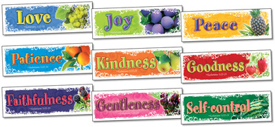 NS 2108 FRUIT OF THE SPIRIT BOOKMARKS