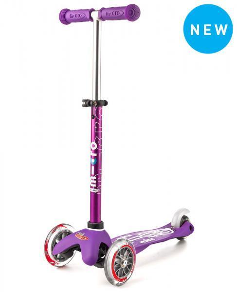Mini Deluxe Micro Scooter, Purple, One Size