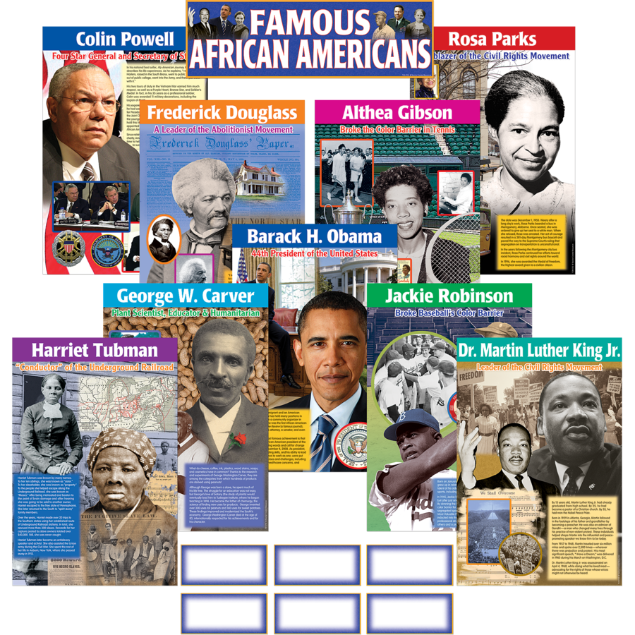 TCR 4752 FAMOUS AFRICAN AMERICANS BBS