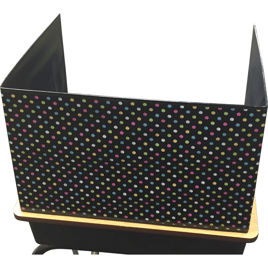 TCR 20763 CLASSROOM PRIVACY SCREEN CHALKBOARD BRIGHT