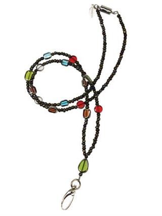 BI 100087 M STAINED GLASS LANYARD