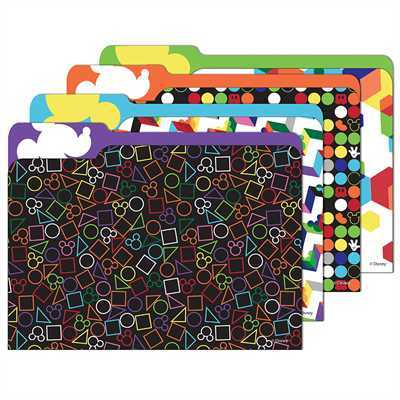EU 866405 GEO MICKEY FILE FOLDERS