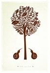 Kiwi Tree Linen Teatowel
