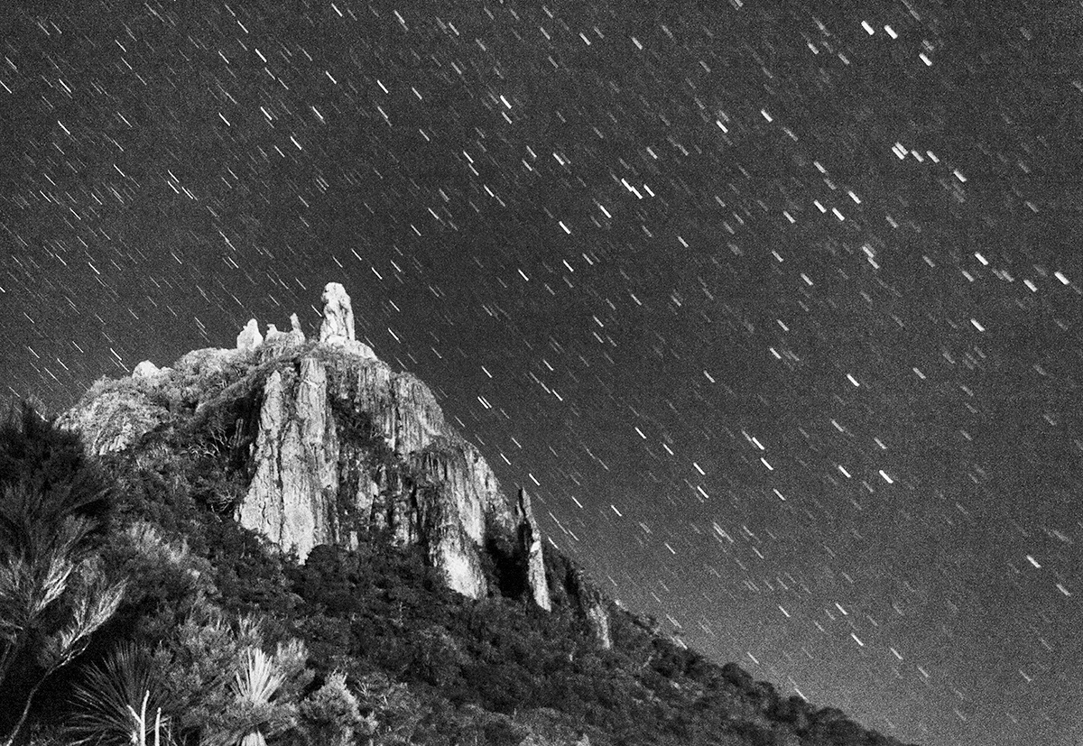 star trails mt manaia (limited edition print)