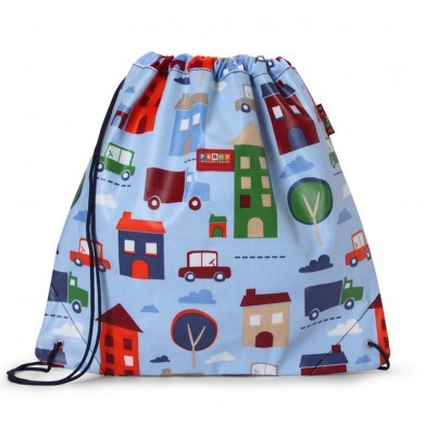 Penny Scallan NEW Drawstring Bag, Big City, One Size