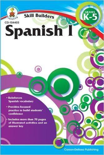 CD 104403 SKILL BUILDERS SPANISH I GK-5