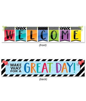 CTP 8149 BOLD & BRIGHT 2 SIDED BANNER