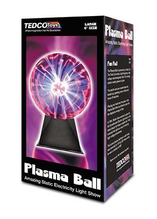 X TED 01207 LARGE PLASMA BALL