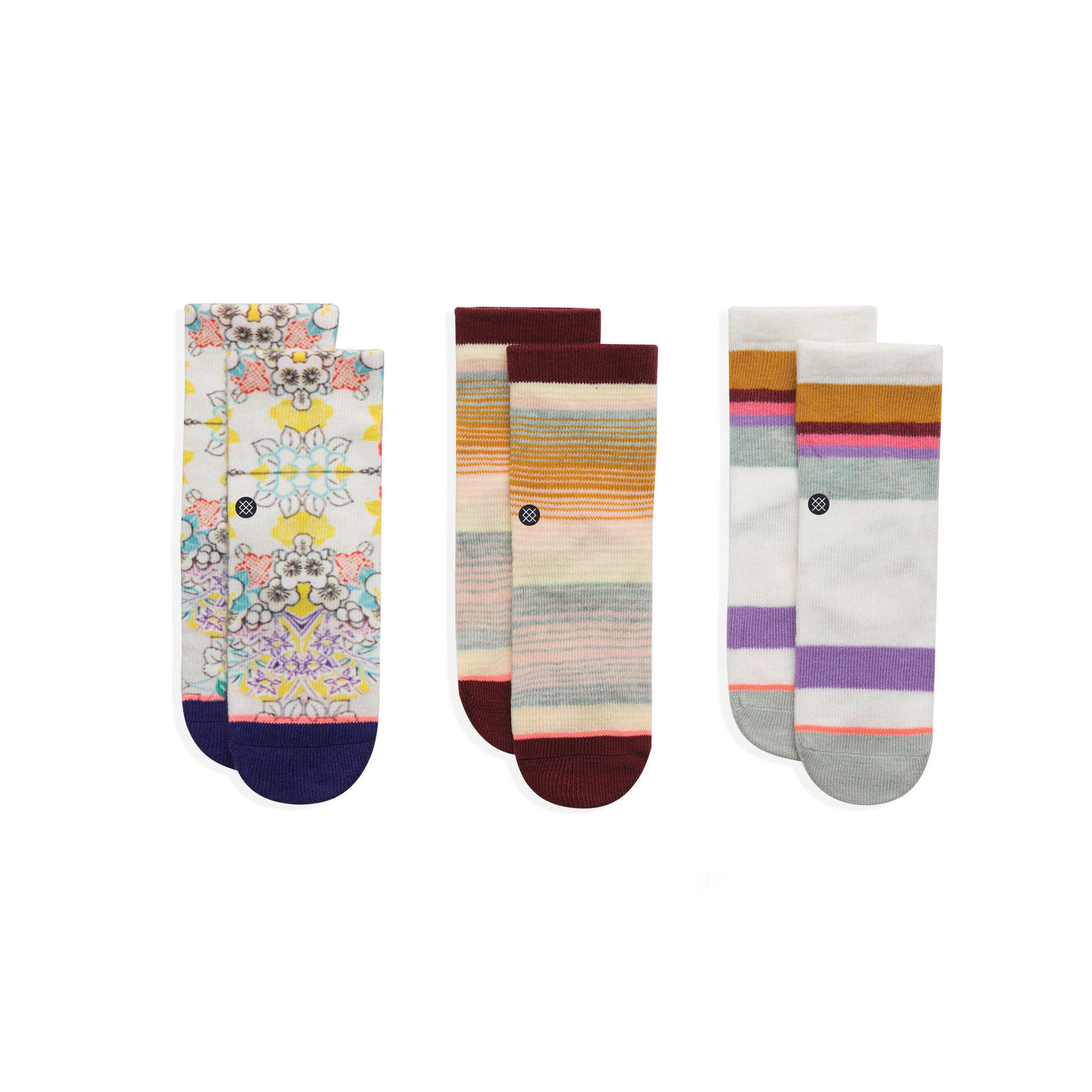 STANCE - TODDLER GIRLS JIGGY BOX SET MULTI