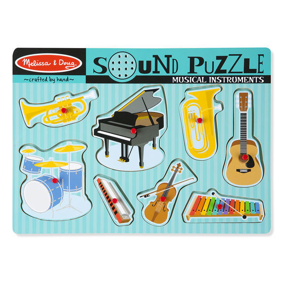 MD 732 MUSICAL INSTRUMENTS SOUND PUZZLE