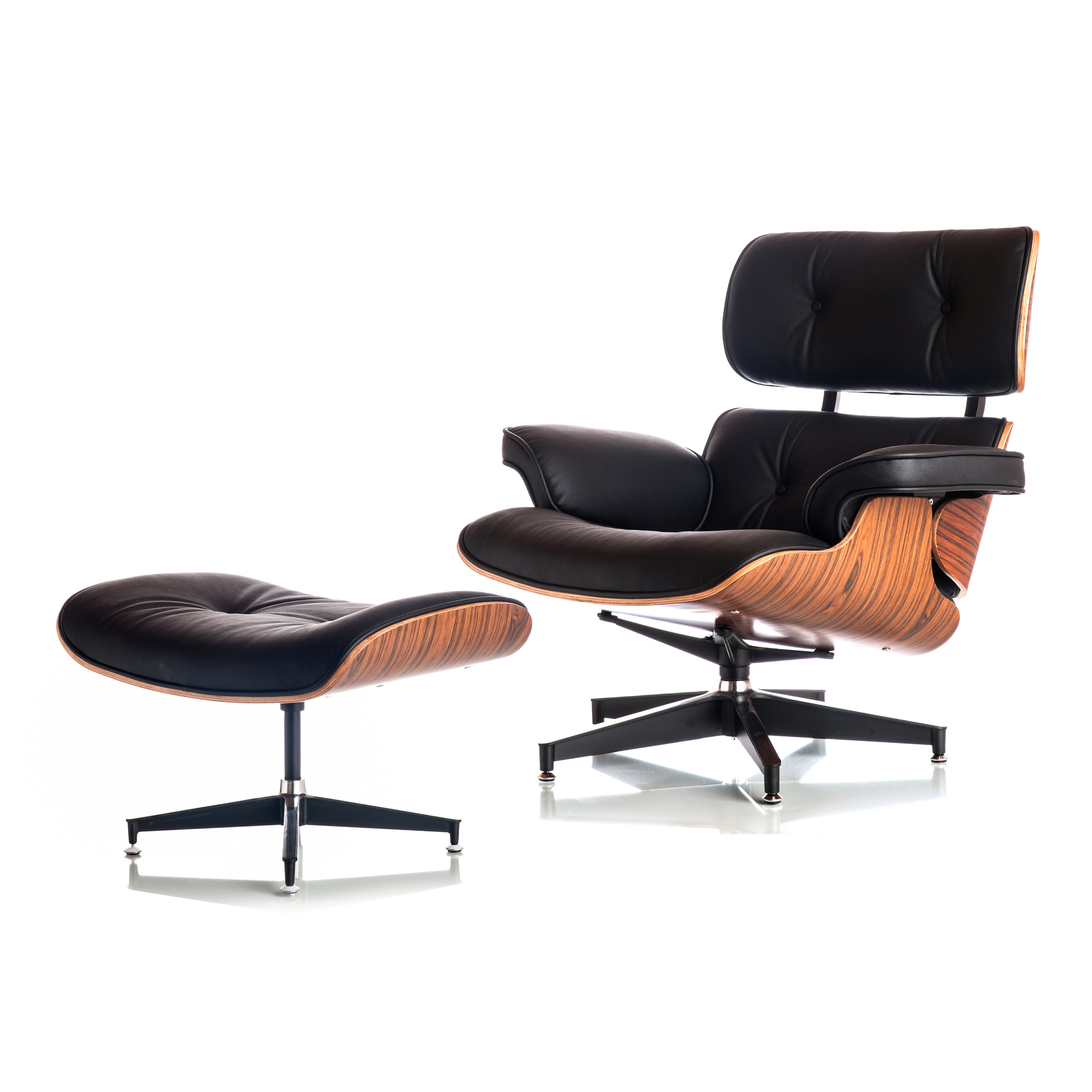 Chair and Ottoman Eames Style