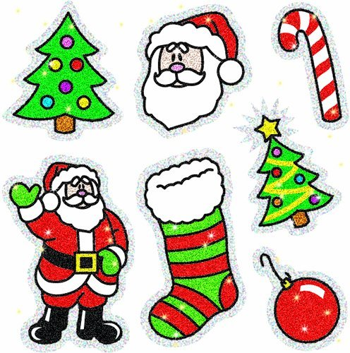 CD 2905 CHRISTMAS DAZZLE STICKERS