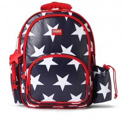 Penny Scallan NEW School Back Pack (large), Star Print, One Size