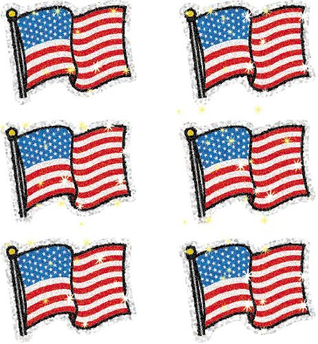 CD 2930 FLAGS DAZZLE STICKERS