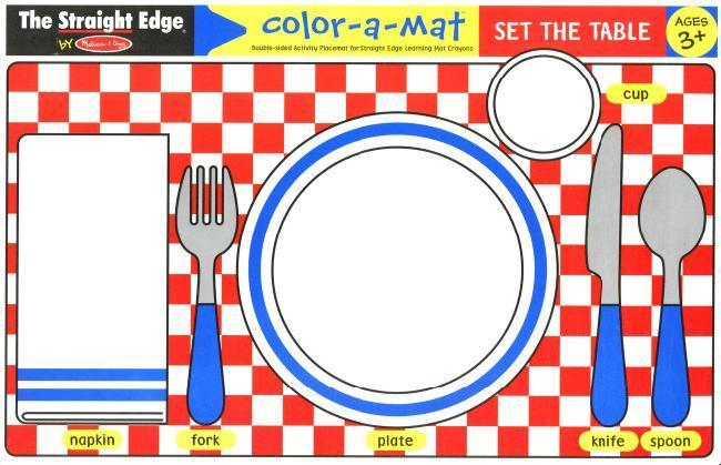 MD 5000 SET THE TABLE WRITE A MAT