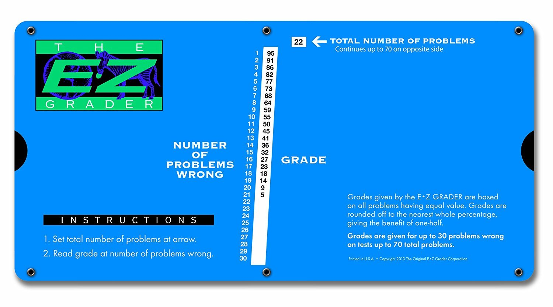 EZ 7200 EZ GRADER LG PRINT BLUE