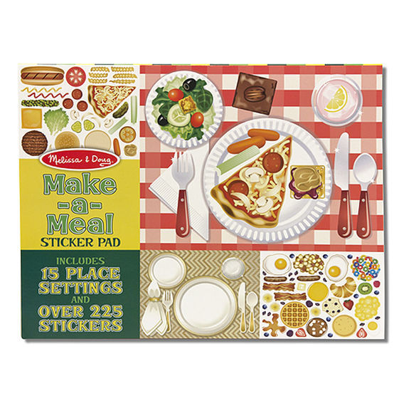 MD 4193 REUSABLE STICKER PAD MAKE A MEAL