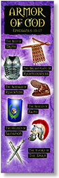 NS 2112 THE ARMOR OF GOD BOOKMARKS