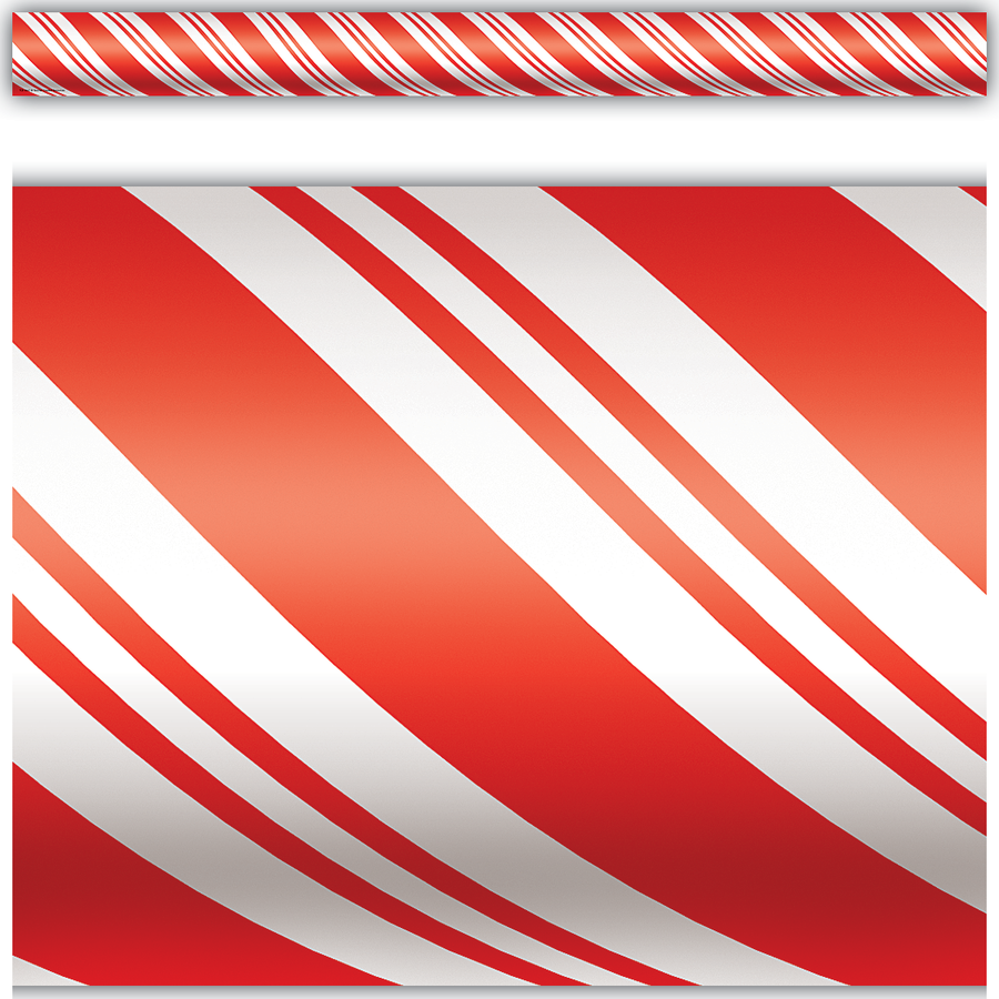 TCR 4667 CANDY CANE BORDER