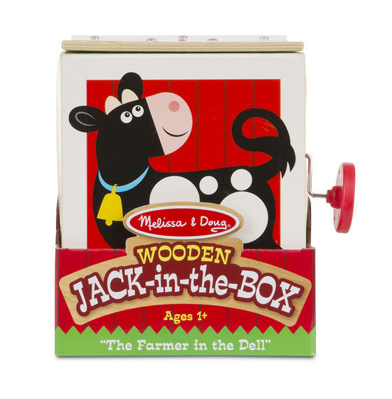 MD 9303 WOODEN JACK IN THE BOX