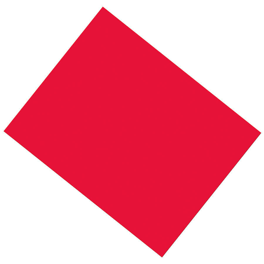 PA 5380-1 COATED POSTER BOARD RED
