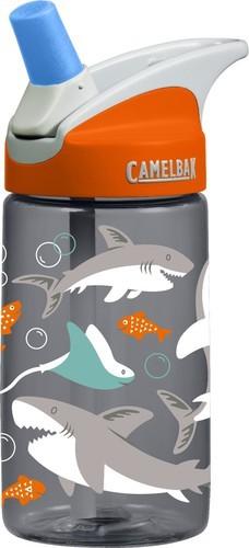 Camelbak Eddy Drink Bottle - 400ml, Shark, One Size