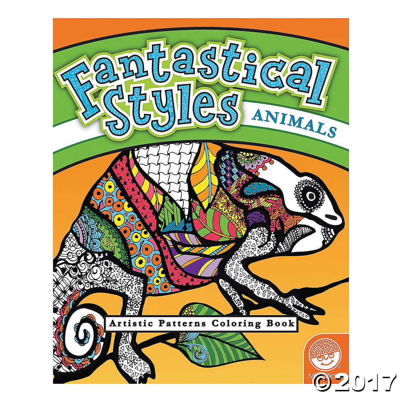 MW 62008 FANTASTICAL STYLES ANIMALS