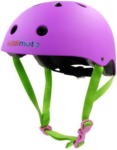 Kiddimoto Helmet, Purple Matt, M